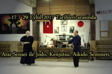 Katsuhiko Arai sensei semineri